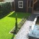 tuinvijver en tuinoverkapping
